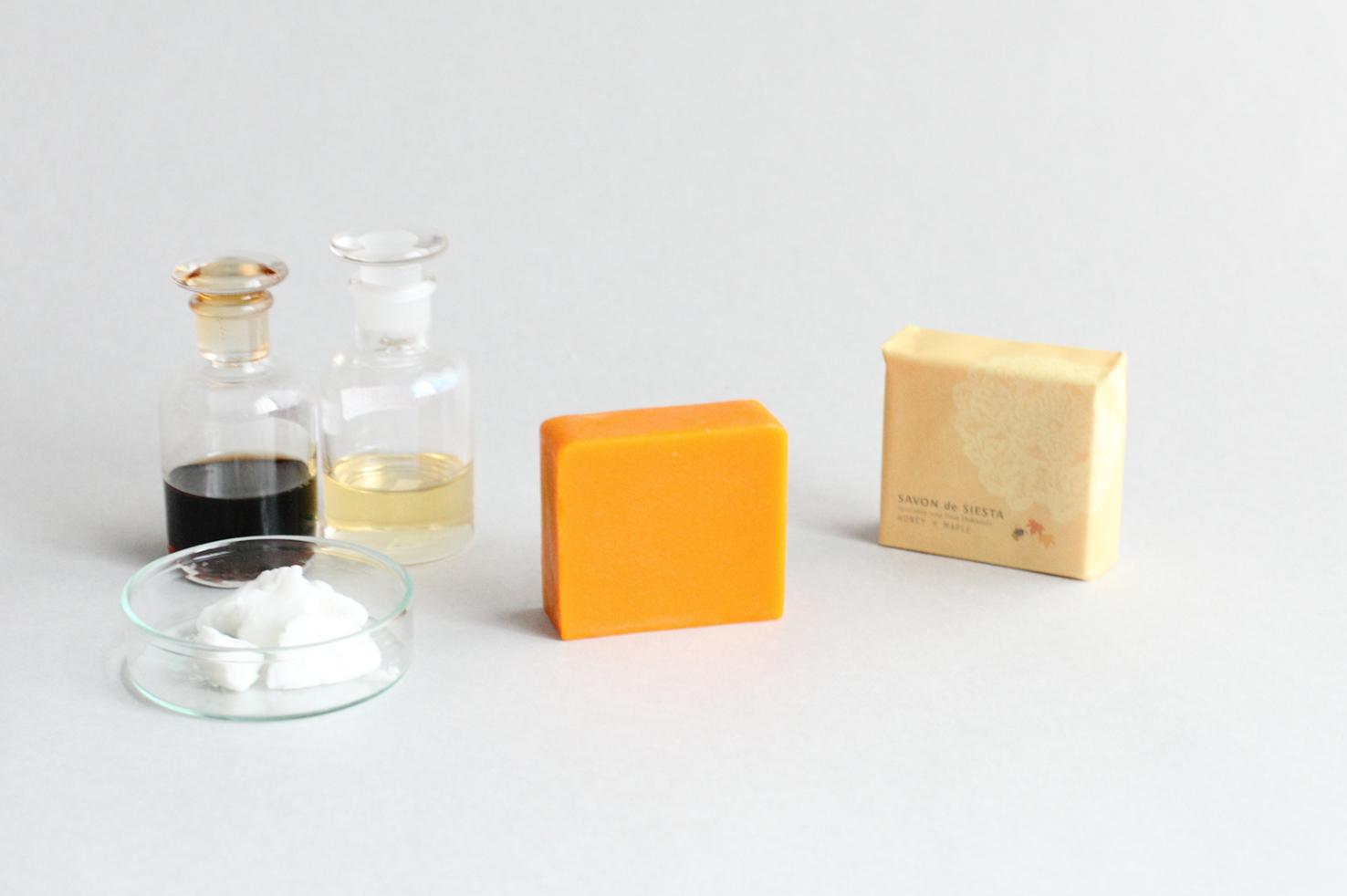 ふたつの蜜の石鹸