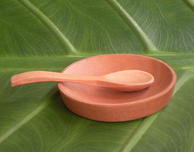 小さなお皿とスプーン説明画像2