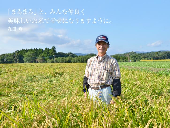 森田さんの田圃