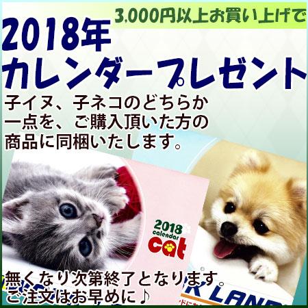 2018カレンダープレゼント