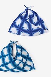 有松鳴海絞 小巾折(こはばおり)