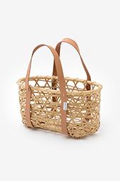 【予約】風呂敷用竹籠 やたら編み