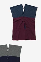 カシミヤ混 長方形衣二つ身 組