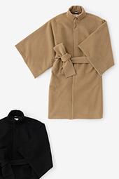 角袖外套 袷(かくそでがいとう あわせ)