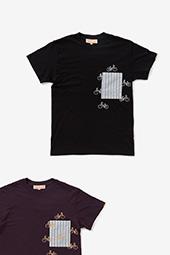 チャリンチャリン ポケットTシャツ