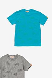 刺繍化 チャリンチャリン 半袖Tシャツ