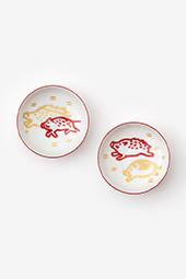 好一対豆皿(こういっついまめざら)/亥(ゐ)