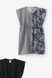綿麻混 長方形衣(ちょうほうけい)