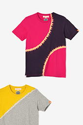 近清絞り 半袖Tシャツ