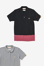 たばた絞り 半袖ポロシャツ