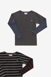 型ぬき 長袖Tシャツ