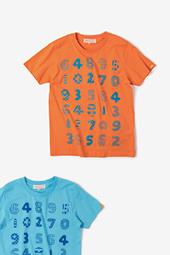 数遊び 半袖Tシャツ