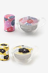 ガラス急須&茶缶セット