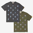 【le coq sportif】和紙 SO-SU-U 半袖Tシャツ