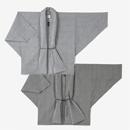 【傾衣】知多木綿 綿麻 絽 もじり袖 短衣 単