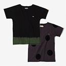 【le coq sportif】たばた絞り 型ぬき 半袖Tシャツ