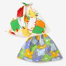 【布袋】伊勢木綿 小巾折