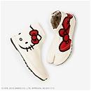 【★理由あり】 貼付地下足袋/Hello Kitty×SOU・SOU