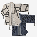 【傾衣】カージー編み 宮中袖 間 単