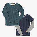 【le coq sportif】型ぬき 長袖Tシャツ
