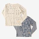 【le coq sportif】型ぬき長袖Tシャツ