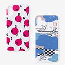 【文具・本・小物】テキスタイルカバー iPhone X/XS