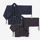【傾衣】杢織 宮中袖 短衣 単