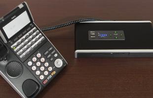 電話機接続のイメージ