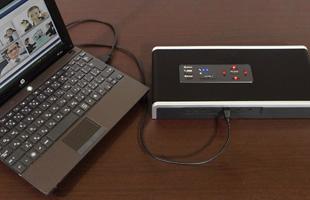 PCとR-Talk 1500を接続