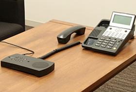 R-Talk 950と固定電話機を接続