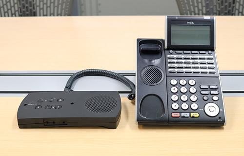 ビジネスホンの固定電話機とR-Talk 950を接続