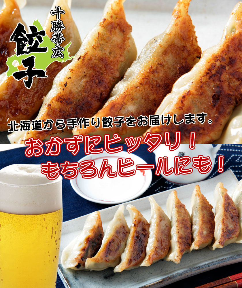 北海道帯広の餃子