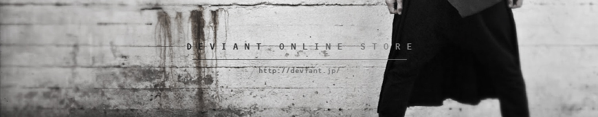 バックラッシュやNUDE:MM,N/07などの販売/名古屋DEVIANTのオンラインストです。