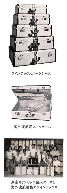 ラインテックススーツケース/海外渡航用スーツケース/東京オリンピック聖火ケースと海外渡航用鞄のラインテックス
