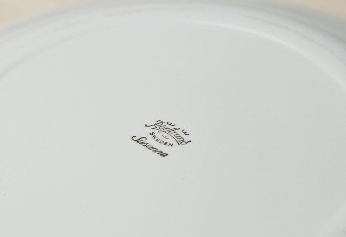 スウェーデン/Rorstrand(ロールストランド)/Susanne/陶器のプレート 詳細写真