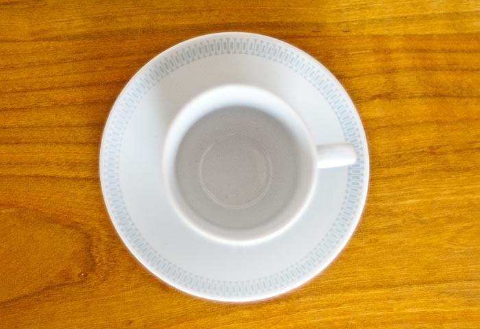 Upsala Ekeby(ウプサラエクビィ)/KARLSKRONA - コーヒーカップ&ソーサー/スウェーデン/ビンテージ 01