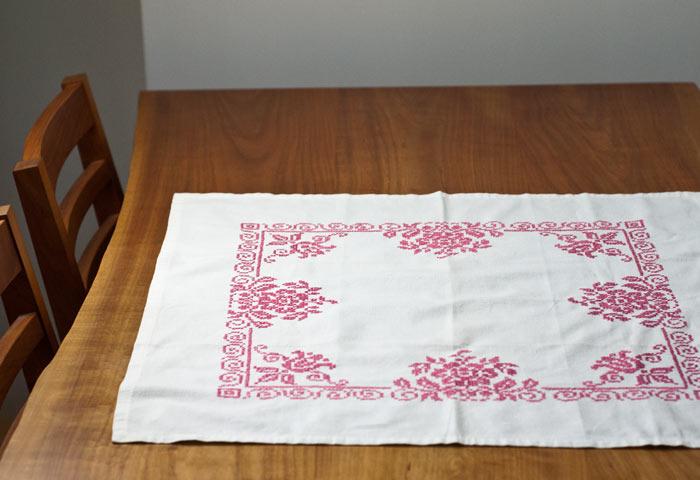 北欧で使われていた、刺繍のセンタークロス