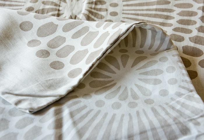 北欧で使われていた、掛け布団カバー/ビンテージ 01