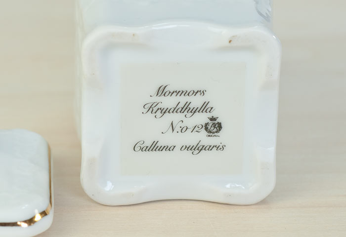 Fyrklovern/Mormors Kryddhylla - 陶器のスパイスジャー(調味料入れ)クミン /スウェーデン/ビンテージ/K0032 01