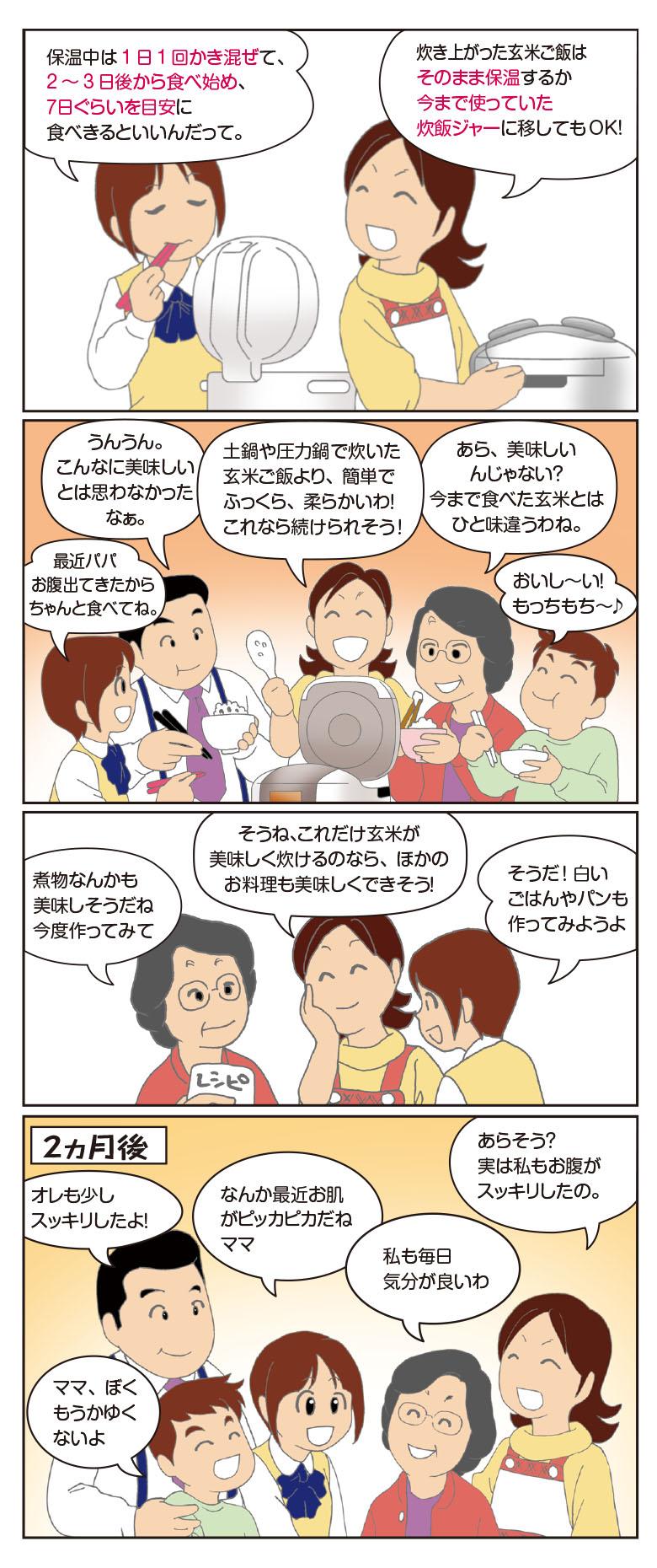 がんばりままのCUCKOO圧力名人デビュー日記!つづき