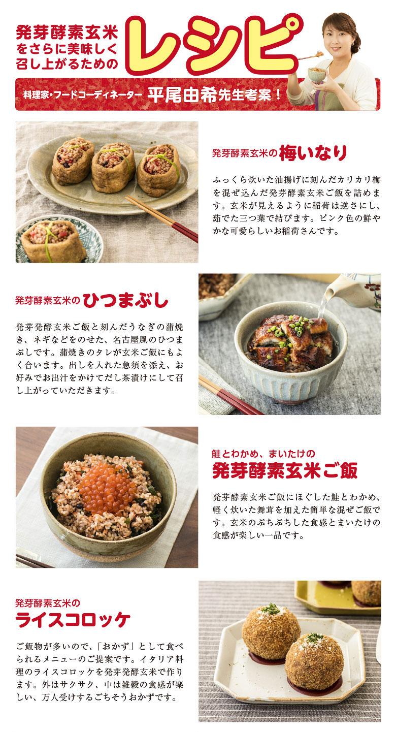 平尾先生紹介の発芽酵素玄米レシピ