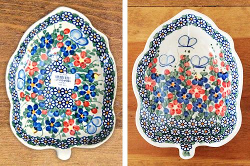 ポーランド・ボレスワヴィエツ陶器 柄の差異についてご理解いただきたいこと