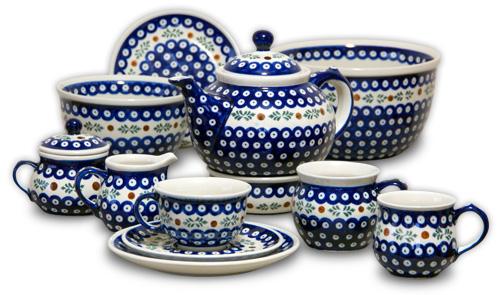 ポーランド陶器イメージ