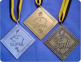 SUFFA受賞メダル