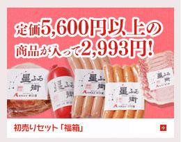 <インターネット販売限定!>初売りセット「福袋」