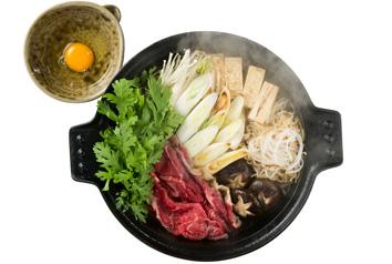 六つアラレすき焼鍋 特大27cm