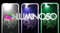 光るiPhoneケース LUMINOSO