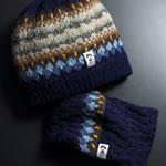 震災支援!毛糸の帽子&ネックウォーマー
