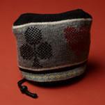震災支援!毛糸のアイアンカバー