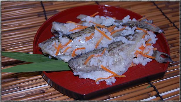 ハタハタの飯寿司イメージ写真